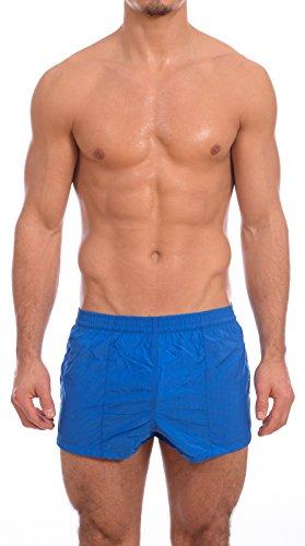 Mens New Windsurfer Swimsuit Trunk by Gary Majdell Sport (Royal, Medium)