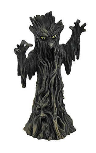 Zeckos Spooky Tree Scary Incense Tower Burner LOTR Green -