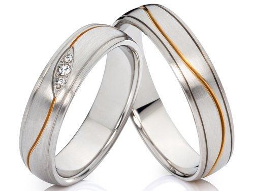 2 alianzas de compromiso anillos Póster con anillos de alianzas y corazones de amistad anillos de