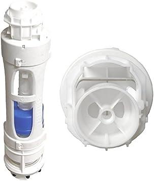 /Multicolore Roca 822021000/D1D Old Style double chasse deau WC valve/