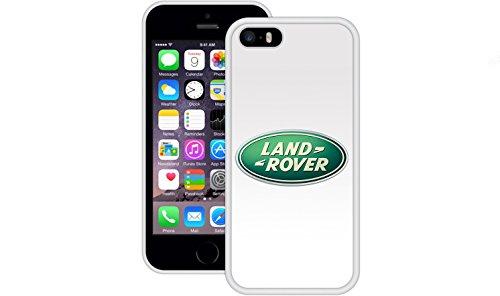 Land Rover | Handgefertigt | iPhone 5 5s SE | Weiß TPU Hülle