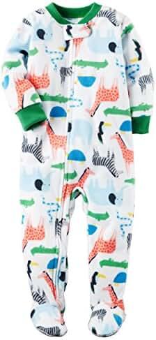 Carter's Baby Boys' 1-Piece Fleece Pajamas
