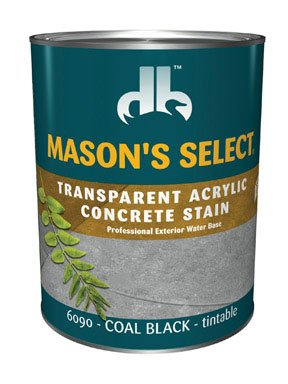 Mason's Select Concrete Stain - Stain Select Concrete Masons