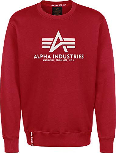 Pull Alpha Speed Homme Basic Red Sweater qznpzU0B