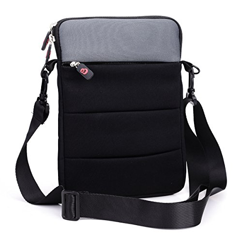 black-grey-messenger-slim-sleeve-bag-case-w-strap-nuvur-for-acer-chromebook-c720-116-accessories