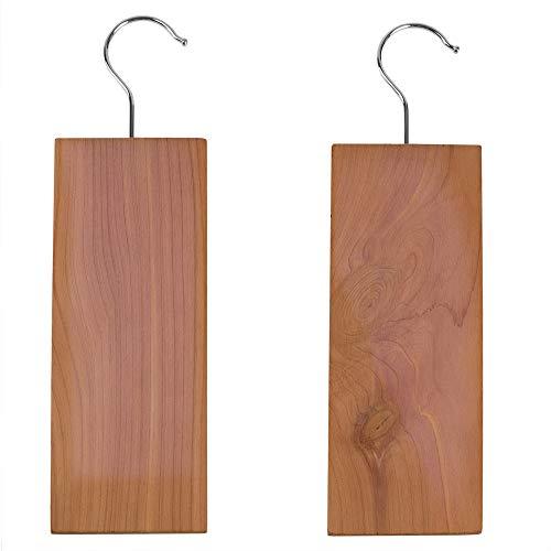 Blocks Hanging (Sunbeam All Natural Bug-Repellent and Mildew-Protecting Hanging Cedar Blocks, No Harsh Chemical, for Closet, Shelves, Sports Bag, Gym Locker, Luggage, Linen Cabinet, Bedroom (Pack of 2))