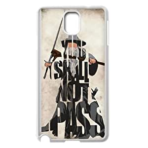 Gandalf The Lord Of The Rings Samsung Galaxy Note 3 Cell Phone Case White JN803726