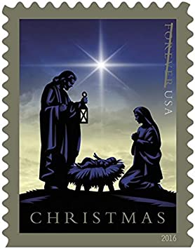 Nativity Usps Forever First Class Postage Stamp Us Holy Family Holiday Christmas Sheets 60 Stamps 3 Booklets Of 20 Stamps