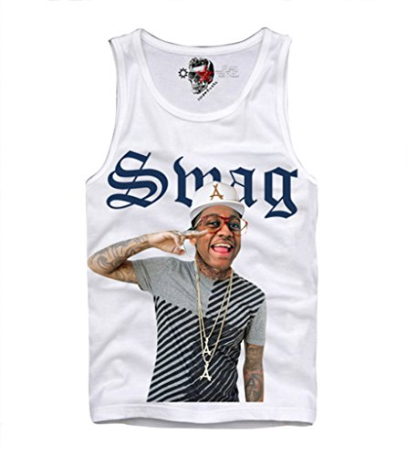 E1SYNDICATE Tank Top Shirt Steve Urkel SWAG Hipster Nerd Geek - Hipster Steve Urkel