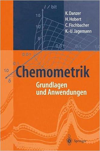 Book Chemometrik: Grundlagen und Anwendungen