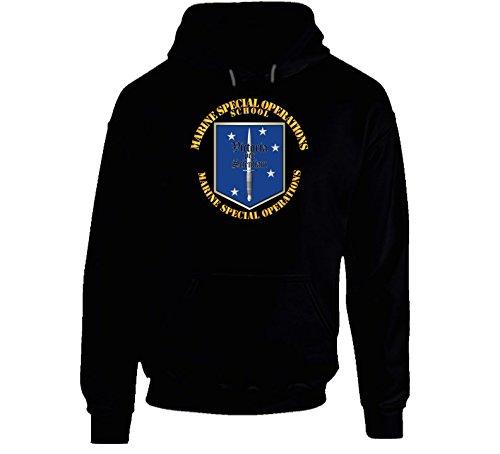 SMALL - Sof - Usmc Marine Special Operations School - Hoodie - Black