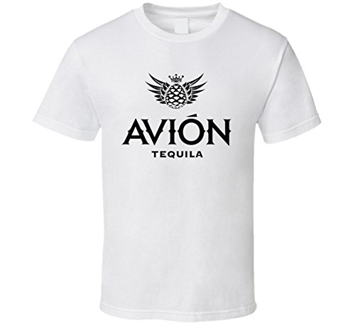 Avion Tv (T-Shirt Bandit Avion Tequila Entourage Tv Show Liquor White T Shirt L White)