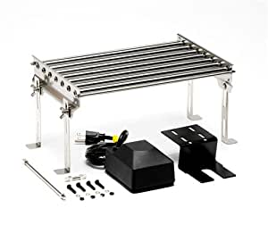 Grill Dog GD-01002 Stainless-Steel Rotisserie Linked-Meat Cooker with Electric Motor
