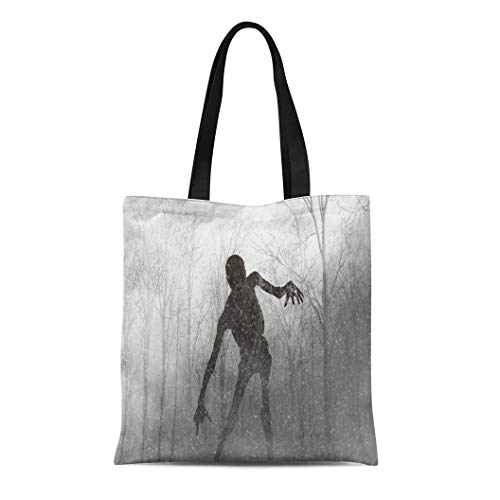 Semtomn Cotton Canvas Tote Bag Demon 3D of