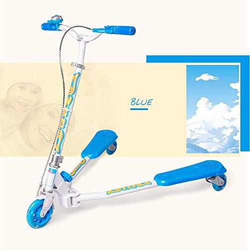 Runplayer はさみのデザイン、子供のギフトを持つ子供のための三輪フラッシュスクーター Color ( B07R4SHVK7 Color ( : Blue ) B07R4SHVK7, SIDESTANCE R04:80842926 --- piairservices.eu