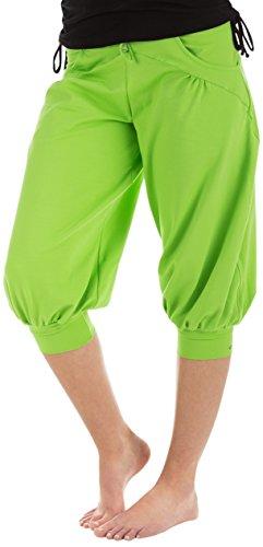 Winshape WBE3 Pantalon d'entraînement 3/4 pour femme L Vert - Vert pomme