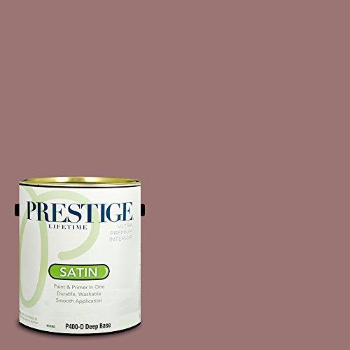Prestige Paints P400-D-1007-7BVP Paint and Primer in One, 1-Gallon, 1 Gallon, Sumac Berry