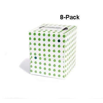 Seventh Generation Facial Tissue, 2-Ply Sheets, 85-Count Boxes (Pack of 8)
