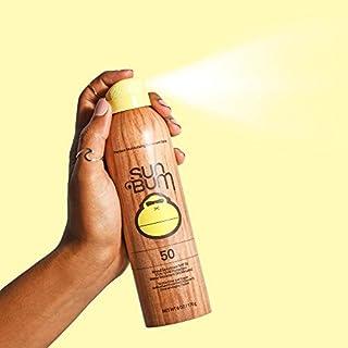 Sun Bum Original SPF 50 Sunscreen Spray | Vegan and Reef Friendly (Octinoxate & Oxybenzone Free) Broad Spectrum Moisturizing UVA/UVB Sunscreen with Vitamin E | 6 oz