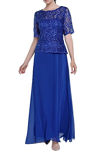 Topkleider - Vestido - trapecio - para mujer azul real