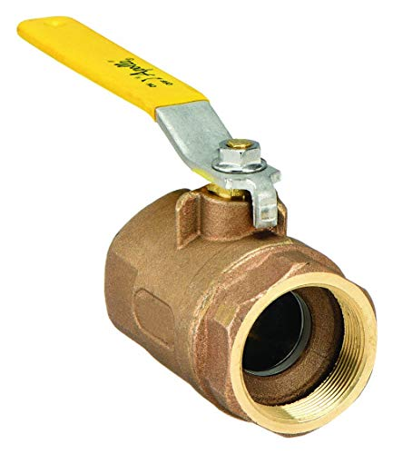 Lever 1//2 NPT Male x NPT Female Apollo 70-800 Series Bronze Ball Valve Two Piece Inline