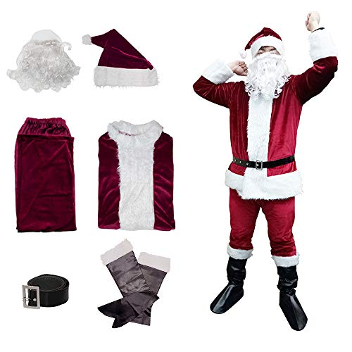 Christmas Santa Claus Suit, Adult Men's Santa