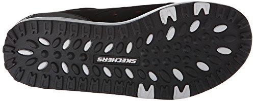 Skechers Shape-ups 2.0Everyday Comfort - zapatilla deportiva de piel mujer Negro (Black/Pink)