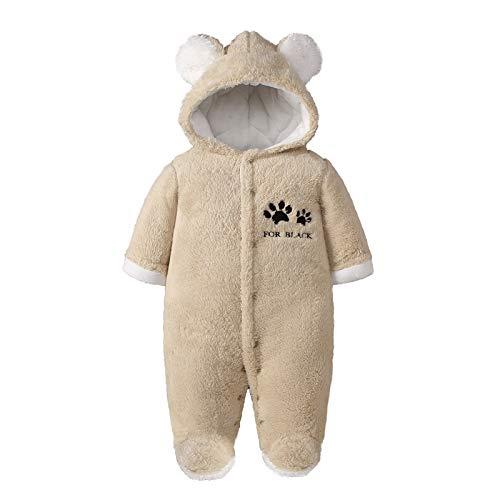 Babyromper, winteroutfit, met capuchon, sneeuwpak, jongens, meisjes, overall, lange mouwen, babykleding, pyjama…