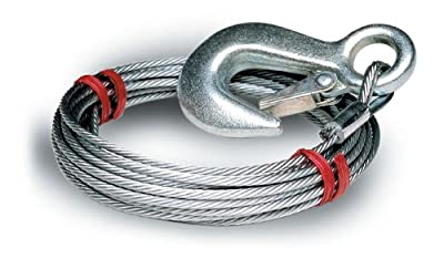 "Tie Down Engineering Silver Standard 59395 Winch Cable 7/32"" x 25'"