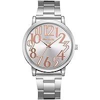 FANTEEDAF clásico de alta precisión mujeres señora correa reloj casual simple estilo moda cuarzo analógico regalo regalo