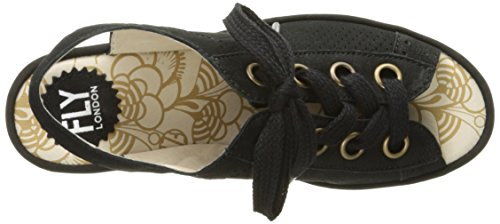 FLY London Women's YUTA617FLY Platform Sandal, black Cupido, 39 EU/8-8.5 M US by FLY London (Image #8)