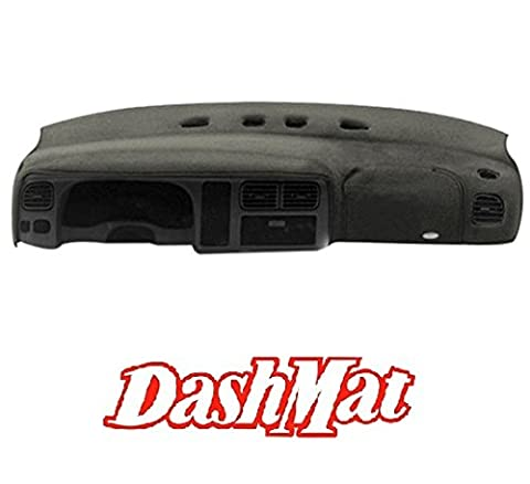 DashMat UltiMat Dashboard Cover Dodge Ram Pickup (Premium Carpet, Smoke) (2002 Dodge Ram 2500 Dashboard)