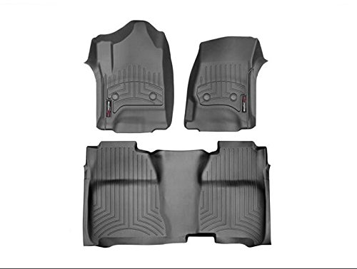 (WeatherTech 446071-445422 1st and 2nd Row FloorLiner)