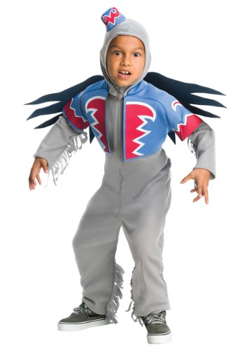 Wizard of Oz Child's Flying Monkey Costume, Large]()