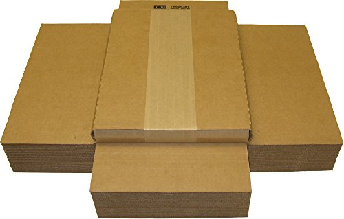 (25) Cardboard Magazine/Comic Boxes - 1' Variable Depth - MABC01VD