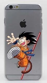Coquefone Coque Iphone 6 6s Dragon Ball Dbz Son Goku Boule Cristal
