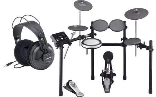 Yamaha DTX522K 5-Piece Electronic Drum Set with Yamaha Headphone -