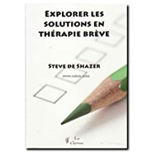 Explorer les Solutions En Therapie Breve