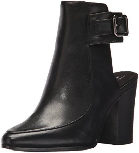 Fashion Square Black Boot Leather Women's Aerosoles up qH4xwtn0