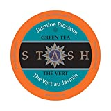 Stash Tea Jasmine Blossom Single-Cup Tea for Keurig K-Cup Brewers, 40 Count