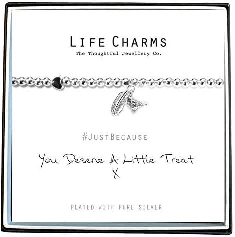 Life Charms Deserve A Treat Bracelet