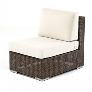 Malaga Wicker Slipper Chair