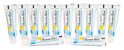 - Anticavity Flouride Toothpaste - 0.85 Ounce Tube - Bulk Pack 144 tubes
