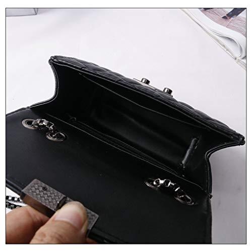 a PU modello 211 tracolla in a Borsa motivo Ms borsa diagonale tracolla borsa borsa borsa tracolla tracolla a codice nero a con pelle S UBxq7H