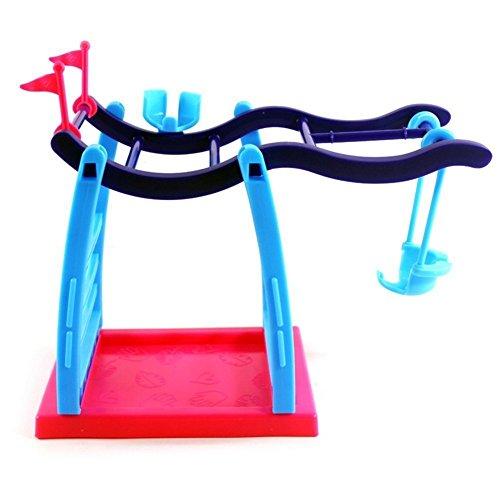 Tid Baby Monkey Jungle Swing Gym Playset Interactive Baby Monkey Climbing Stand  Swing