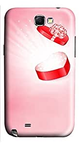 Samsung Note 2 Case Exudes A Love Gift 3D Custom Samsung Note 2 Case Cover