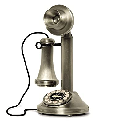 Crosley Candlestick Phone with Push Button