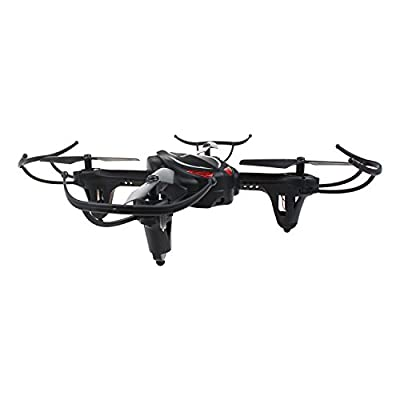 HaMi RC Helicopter Drone,Remote Control Helicopter 2.4Ghz 4CH 6-Axis Gyro Headless Quadcopter Drone with Altitude Hold - Black by HaMi