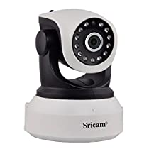 Sricam SP017 Wireless HD IP Wi-Fi CCTV Indoor Security Camera at amazon