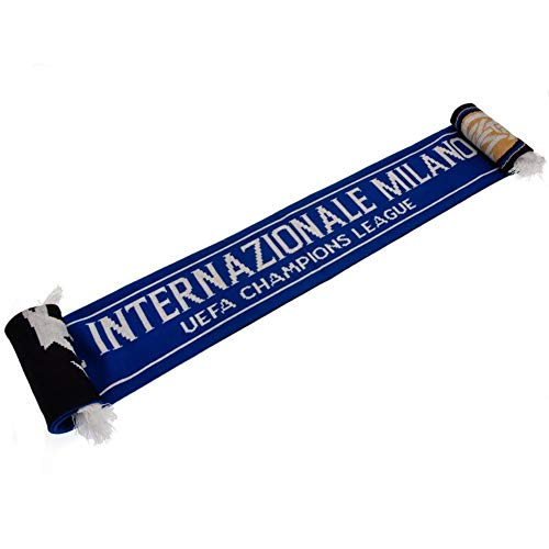 FC Inter Milan Champions League Scarf (One Size) (Blue)